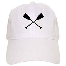 Crossed Paddles Baseball Cap