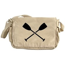 Crossed Paddles Messenger Bag