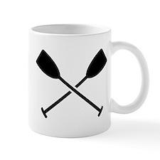 Crossed Paddles Mug