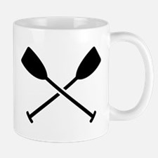 Crossed Paddles Mug