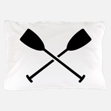 Crossed Paddles Pillow Case