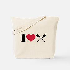 I love Paddling Tote Bag