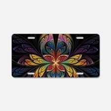 ESplits Butterfly Aluminum License Plate