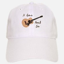 Playing My Guitar Baseball Baseball Baseball Cap