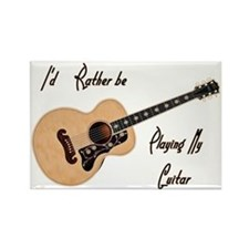 Playing My Guitar Magnets