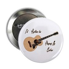 "Playing My Guitar 2.25"" Button"