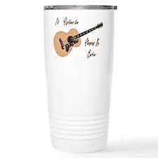 Playing My Guitar Travel Mug