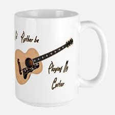 Playing My Guitar Mugs