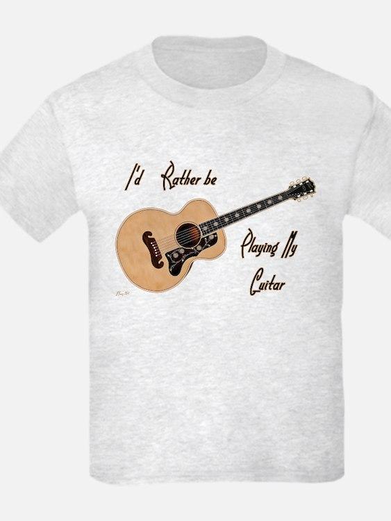 kids guitar t shirts guitar shirts for kids. Black Bedroom Furniture Sets. Home Design Ideas