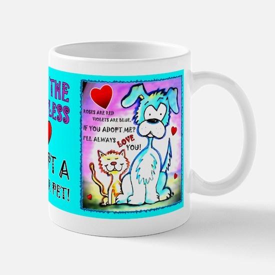 Shelter Pets, Mug