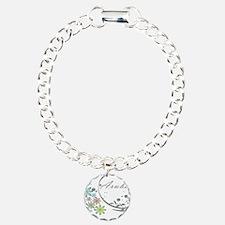 Aruba Floral Beach Graphic Bracelet