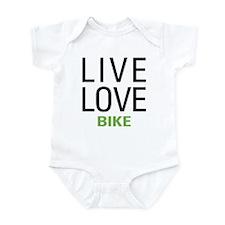 Live Love Bike Infant Bodysuit