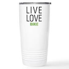 Live Love Bike Travel Mug