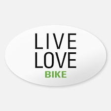 Live Love Bike Decal