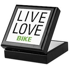 Live Love Bike Keepsake Box