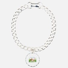 Easter Bunny in Eggs Bracelet