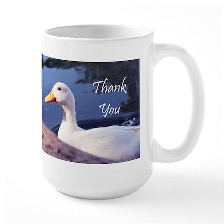 Thank You White Duck Mugs