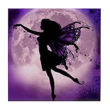 Midnight Stroll Fairy Tile Coaster