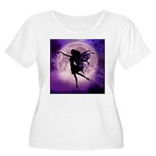 Midnight Stroll Fairy Plus Size T-Shirt