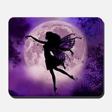 Midnight Stroll Fairy Mousepad
