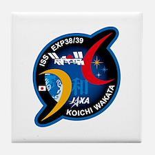 Wakata 39 Soyuz Tile Coaster