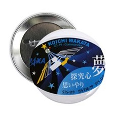 "Expedition 39 Wakata 2.25"" Button"
