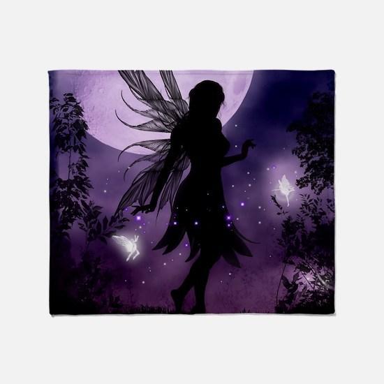 Dancing in the Moonlight Throw Blanket