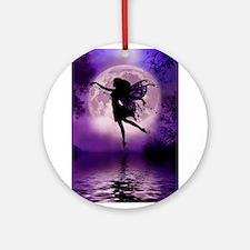 Midnight Stroll Ornament (Round)