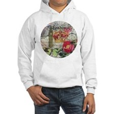London England Vintage Travel Collage Hoodie