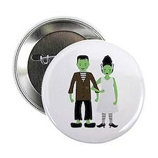 """Frankenstein Bride 2.25"""" Button"""