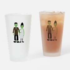 Frankenstein Bride Drinking Glass