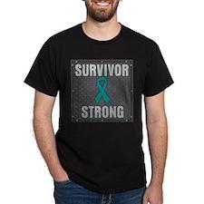 Peritoneal Cancer Survivor Strong T-Shirt