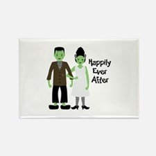Happily Ever After Rectangle Magnet (100 pack)