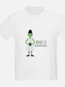 Bride Of Frankensien T-Shirt
