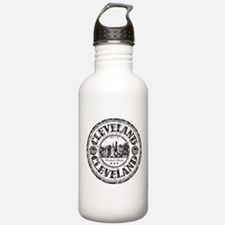 Cleveland Stamp Water Bottle