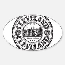 Cleveland Stamp Decal