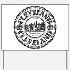 Cleveland Stamp Yard Sign