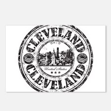 Cleveland Stamp Postcards (Package of 8)