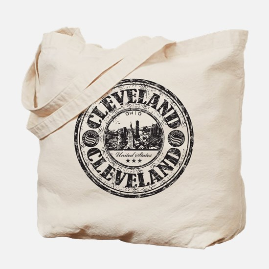 Cleveland Stamp Tote Bag