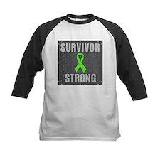 Lymphoma Survivor Strong Baseball Jersey