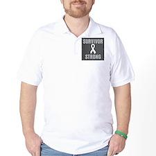 Lung Cancer Survivor Strong T-Shirt