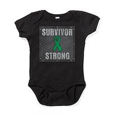 Liver Cancer Survivor Strong Baby Bodysuit