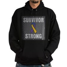 Bladder Cancer Survivor Strong Hoodie