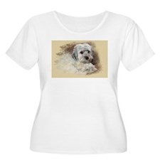 Morkie Plus Size T-Shirt