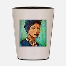 Voodoo Queen Shot Glass