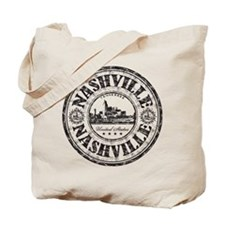 Nashville Stamp Tote Bag