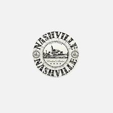Nashville Stamp Mini Button