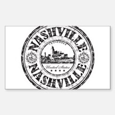 Nashville Stamp Decal