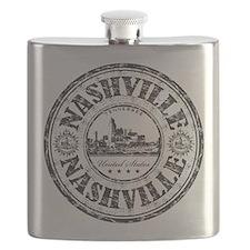 Nashville Stamp Flask