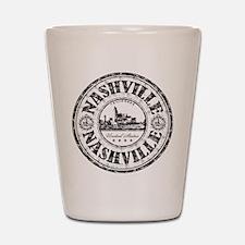 Nashville Stamp Shot Glass